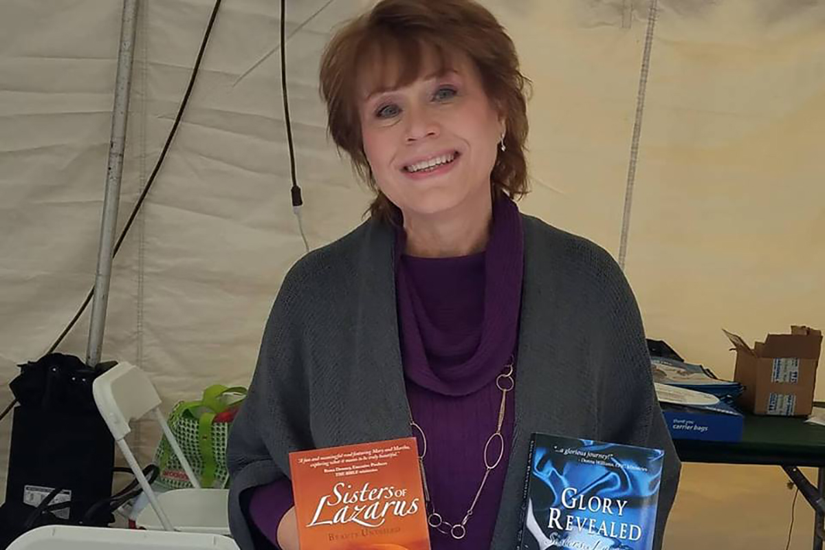 Paula Joins Authors for Book Signing at Southern Festival of Books